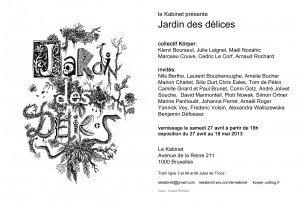 Flyer Jardin des délices